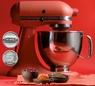 Планетарный Kitchenaid красный- фото 214