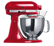 Миксер с чашей Kitchenaid красный