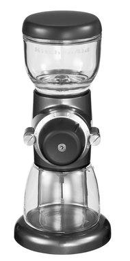 Кофемолка жерновая Kitchenaid серебрянный медальон