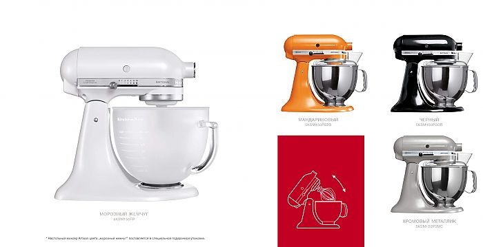 kitchenaid миксер